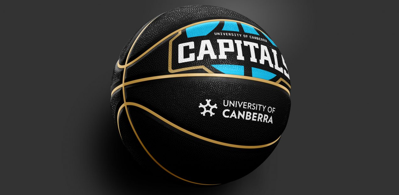 capitals branded basketball