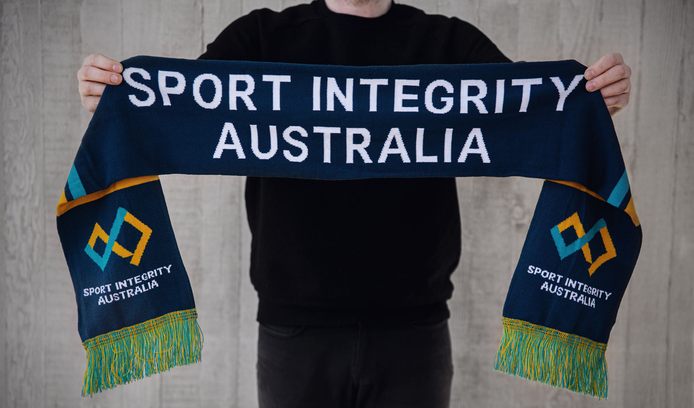 sport integrity australia scarf